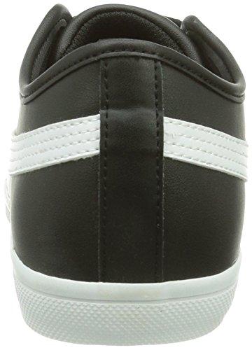 01 Schwarz SL white Puma Sneakers black Elsu Erwachsene Unisex q4zwO8P