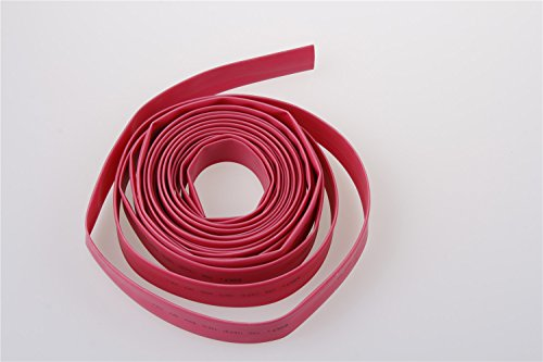 100M Length 7mm Dia Heat Shrinking Tube Roll Red
