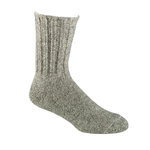 River Rag (Fox River Norsk Heavyweight Rag Wool Socks, Warm/Rugged for Cold Winter Days, XL)