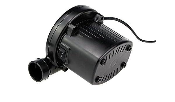 Shuidi - Bomba de aire eléctrica para inflado y desinflado rápido, 130 W, inflado y desinflado eléctrico, 220 V: Amazon.es: Deportes y aire libre