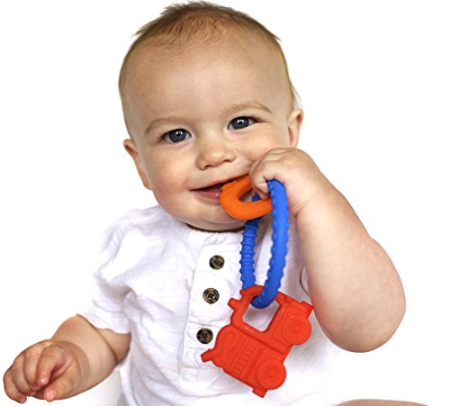 Nuby Chewy Charms Silicone Teether product image