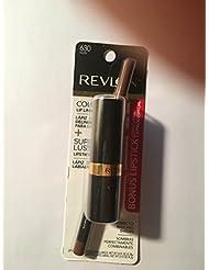 Revlon Colorstay Lipliner nude With Super lustrous Lipstick Rose Velvet