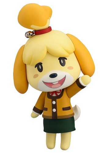 Good Smile Animal Crossing New Leaf: Shizue (Isabelle) Winter Version Nendoroid Action Figure