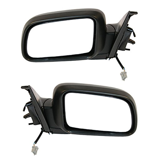 Koolzap For 02-06 CRV Power Non-Heat Black Folding Rear View Mirror Left Right Side SET PAIR