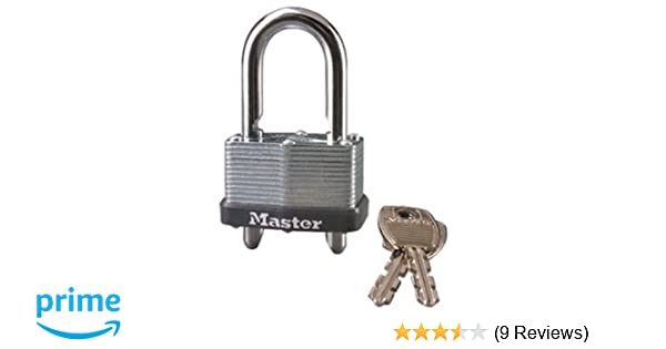 9b3544671b77 Master Lock 510KAD Padlock With Adjustable Shackle Up to 2-inch, Keyed  Alike, 1-3/4-inch