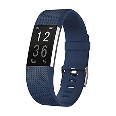 ZUZHEN Fitness Tracker Smart Watch Activity Tracker Sports Band Bracelet Waterproof Bluetooth Wristband with Heart Rate Monitor Pedometer Sleep Monitor Calorie Step Counter A Estimated Price £26.03 -
