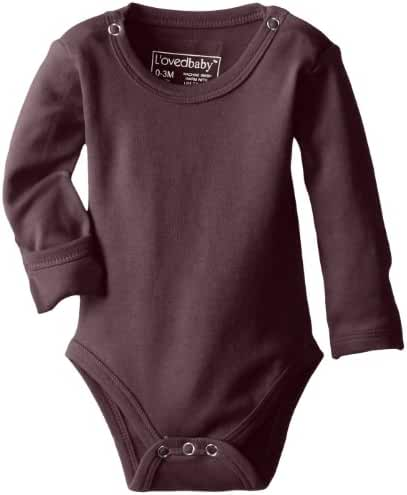 L'ovedbaby Organic Gloved-Sleeve Bodysuit