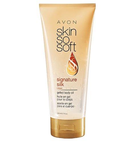 Skin So Soft Signature Silk +argan gelled body oil