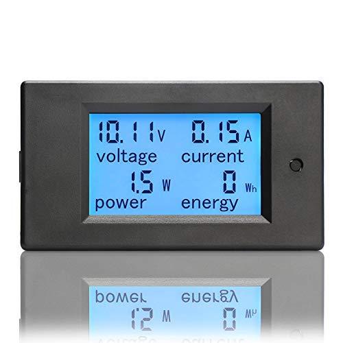 Detection Volt  Current Power Meter DC Voltmeter Charger Ammeter  Energy tester