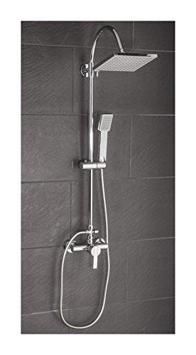 MyBATH MYBDSS2 Rainshower, Shower System with Single Lever Mixer Tap ...