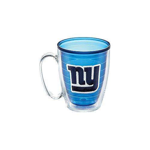 Tervis NFL New York Giants Emblem Individual Mug, 16 oz, Sapphire (Mug Giants New York)