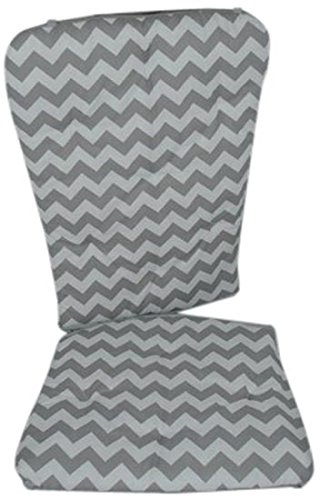 Admirable Baby Doll Bedding Chevron Rocking Chair Pad Navy Gmtry Best Dining Table And Chair Ideas Images Gmtryco