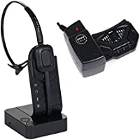 Best Desk Phone Wireless Headset with Remote Hook ON and OFF Handset Lifter 300 Feet Mobility 8 Hours Talking