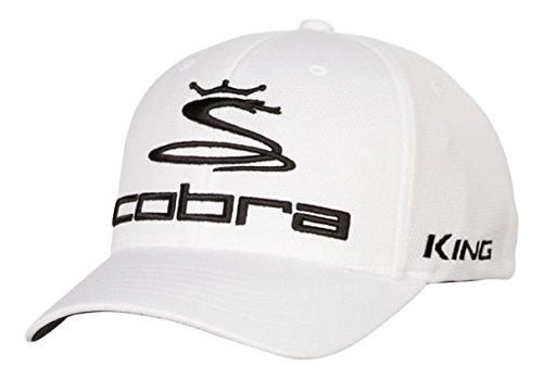 Cobra Golf 2017 PRO TOUR Hat WHT L/XL (White, ()