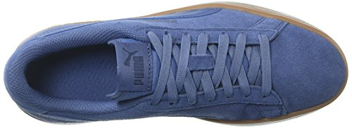 PUMA Unisex-Kids Smash v2 SD Sneaker, Blue Indigo-Blue Indigo-Peacoat, 5 M US Big Kid by PUMA (Image #8)