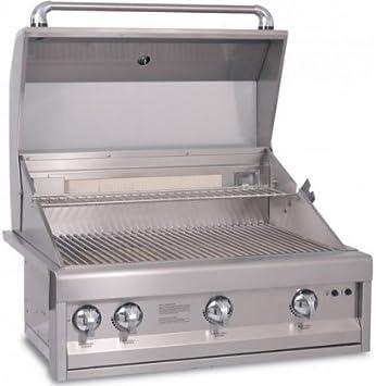 artisan grills art32lp btu builtin propane grillbbq - Coyote Grills