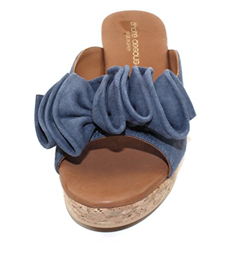 Andre Assous Womens Basha In Jeans Suede - Maat 10 M
