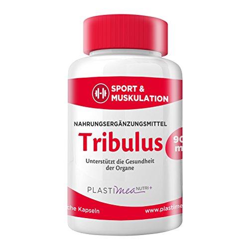 Tribulus Terrestris 900 mg - Wunderpflanze die Potenz und Muskelaufbau steigert - Testosteronspiegel natürlich steigern - 100% Vegan
