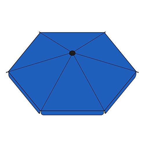 - ALEKO DKR60BL Umbrella Cover for Large Sized Heavy Duty Playpen Kennel in Blue