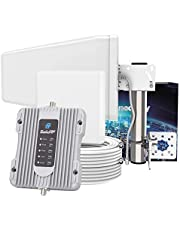SolidRF-Cell Phone Signal Booster-Full Band All Canadian Carriers-Compatible with Bell, Telus, Rogers, Fido and More-Cellular Booster Supports 5,000 Sq Ft-BuildingForce K1 Kit