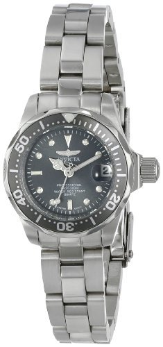 Invicta Women's 14984 Pro Diver Analog Display Swiss Quartz Silver Watch