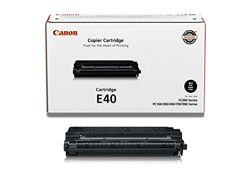 - Canon E40 Toner Cartridge - Black