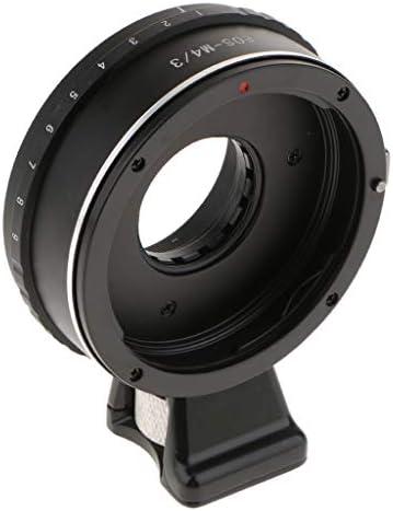 レンズアダプター Canon EOS EFレンズ to Olympus M4/3マウントカメラ本体 アルミ