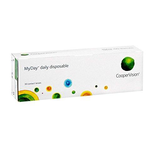 MyDay daily disposable, Tageslinsen weich, 30 Stück / BC 8.40 mm / DIA 14.20 mm / -2.50 Dioptrien