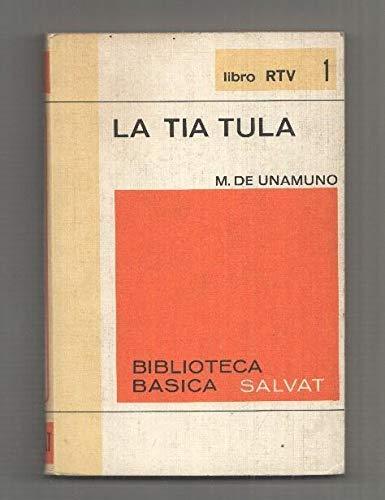 Libro RTV numero 01: La tia Tula: Amazon.es: Miguel de Unamuno: Libros