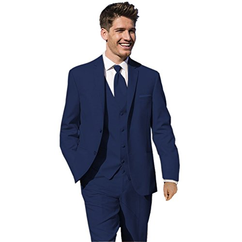 MYS Mens Custom Made Bridegroom Wedding Tuxedo Suit Pants ...