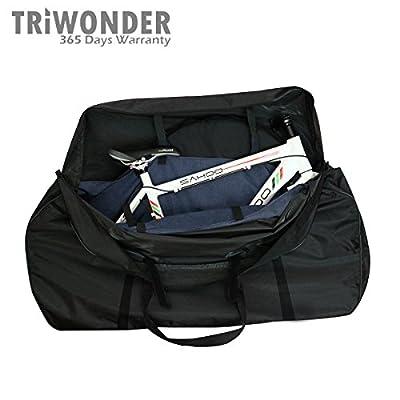 Triwonder Soft Bike Travel Cases Bicycle Carrying Case Transport Cover Bag Carrier Bag
