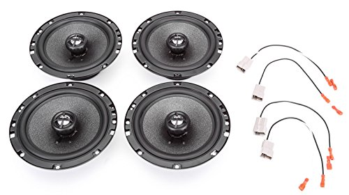 2004-2005 Toyota Tundra Double Cab Complete Factory Replacement Speaker Package by Skar Audio ()