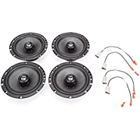 2006-2009 Honda Civic DX Complete Factory Replacement Speaker Package by Skar Audio