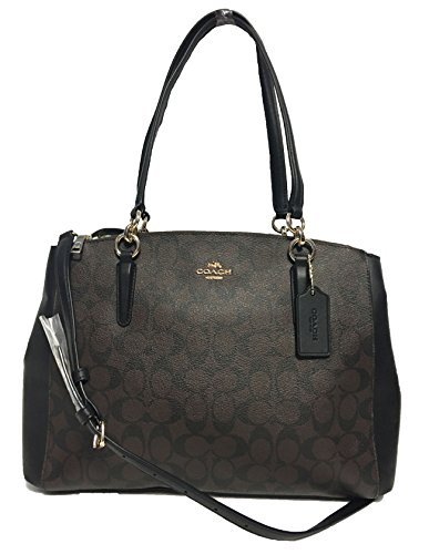 Carryall Crossgrain Brown Coach Leather Christie in 5qXqKwBt