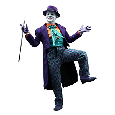 Hot Toys Batman 1989 Movie Masterpiece Deluxe Collectors 1/6 Scale DX08 Action Figure The Joker Jack Nicholson