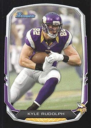 online retailer 15317 13dc9 Amazon.com: 2013 Bowman Black #43 Kyle Rudolph Vikings NFL ...