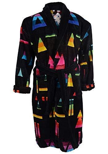 Mens Luxury Premium Egyptian Cotton 400 GSM Velour Towel Gown (Brighton) in  Light Blue 4433aed51