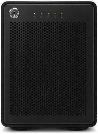 4-Drive HDD Storage Solution with Dual Thunderbolt 3 Ports JBOD OWC 40TB ThunderBay 4 RAID Ready