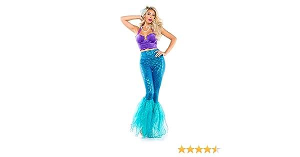 4c2cc3f067eab Amazon.com: Starline Women's Sexy Fantasy Mermaid of The Sea Costume Blue:  Clothing