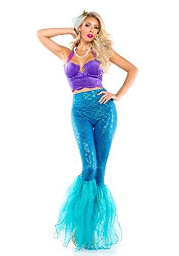 Fantasy Mermaid Costume (Starline Women's Sexy Fantasy Mermaid of The Sea Costume Medium)