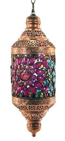 Signes Grimalt - Lampara Techo Colores India 58 cm 54736SG ...