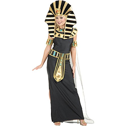 [Egyptian Nefertiti Costume - Small - Dress Size 5-7] (Nefertiti Halloween Costumes)