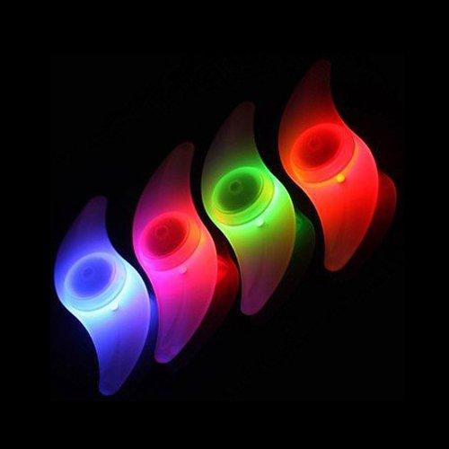 TOOGOO(R) Bike Bicycle Wheel Spoke Tyre Bright LED Light Lamp