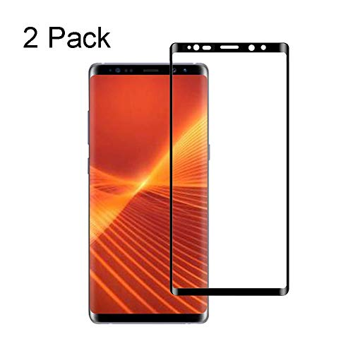 1Anberi Schutzfolie Displayschutzfolie für Samsung Note 9 Panzerglas [2 Stück]