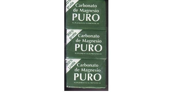 3 Cubitos De Carbonato De Magnecio by Coqui: Amazon.es: Salud y cuidado personal