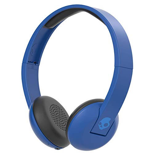 Renewed  Skullcandy S5URJW 546 On Ear Wireless Headphones  Royal Cream