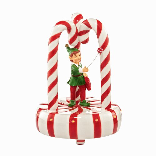 Department 56 Snow Village Christmas Parade Peppermint Float Village Accessory, 4.33 inch]()