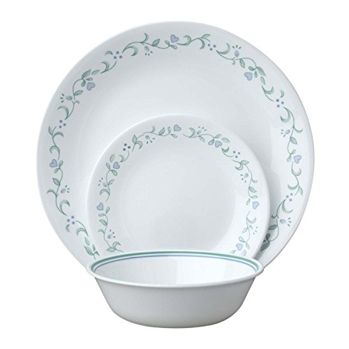 Cheap Corelle Livingware Country Cottage 18-Piece Dinnerware Set, Service for 6