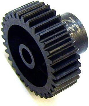 Hot Racing 34t 48p Hardened Steel Pinion Gear 1//8 Bore CSG1834