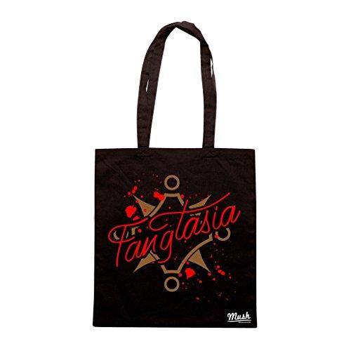 Borsa Fangtasia Club True Blood - Nera - Film by Mush Dress Your Style